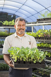 Oscar Carmona, Owner, Healing ground Nursery, Santa Barbara CA